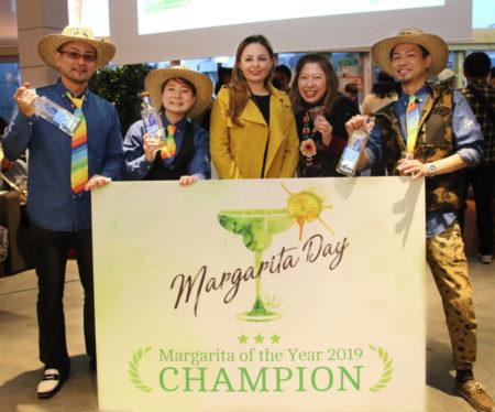 見事「Margarita Of The Year 2019」を獲得した櫛田さん、三上さん、野村さんのチーム
