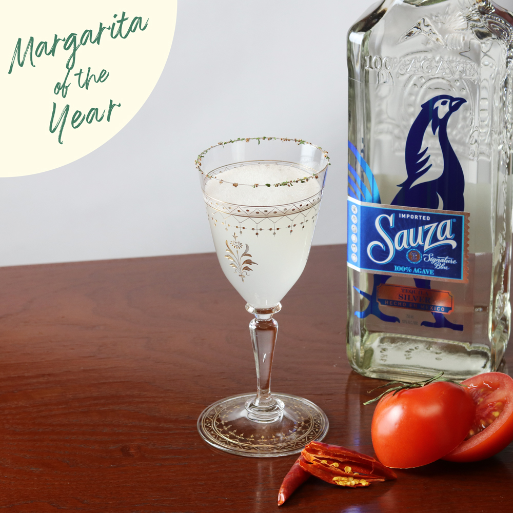 Margarita Of The Year 2019「クリアトマト マルガリータ」