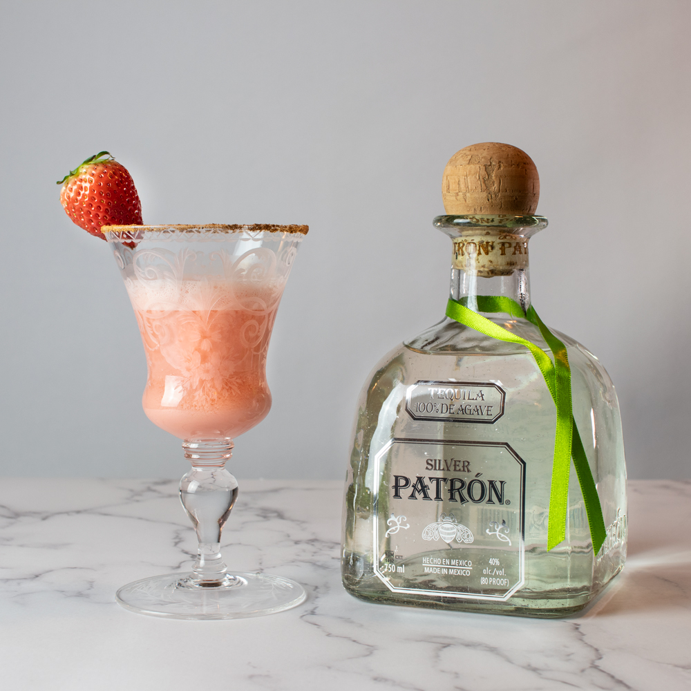 Strawberry Cream Margarita