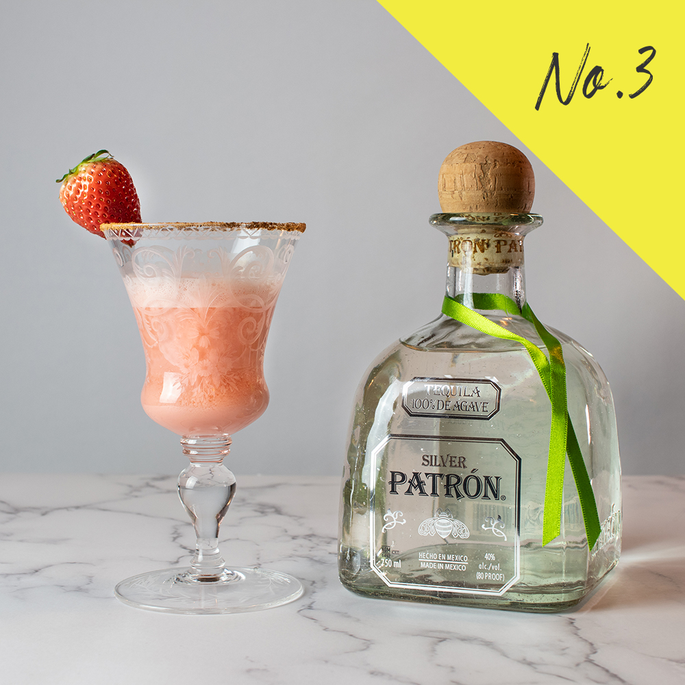 3位「Strawberry Cream Margarita」